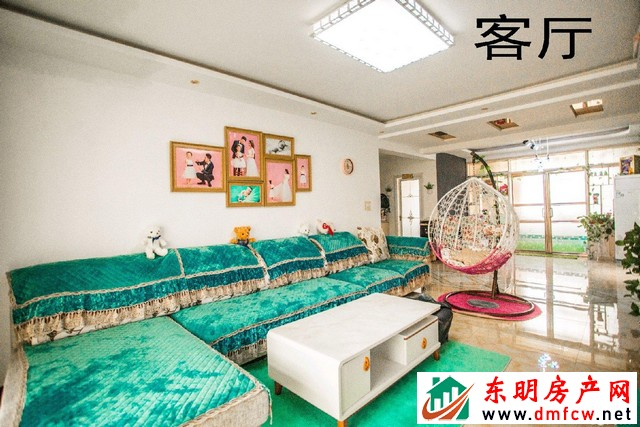黄河明珠 3室2厅 129平米 精装修 50万元