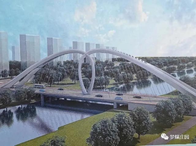 好消息!东明万福河(富强路)路桥一体景观桥最新进展来了...