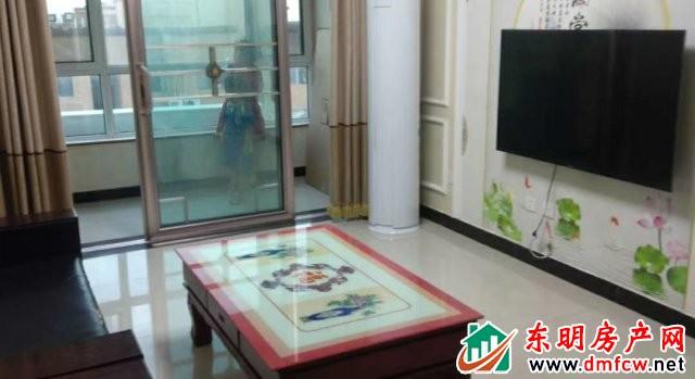 育英家园 2室2厅 90平米 精装修 1200元/月