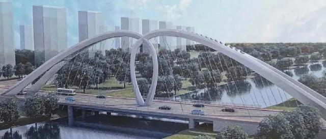 富强路大桥全线施工,【梦蝶庄园】升值在即!