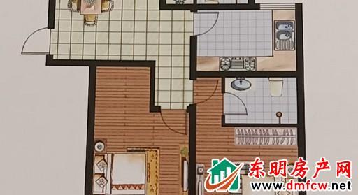 御景豪庭 3室2厅 139平米 毛坯 51.43万元