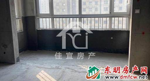 银座康城(东明) 3室2厅 128平米 毛坯 万元